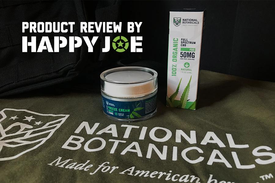 Happy Joe Reviews National Botanicals